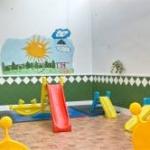 Patio guarderia infantil la comenta en Usera