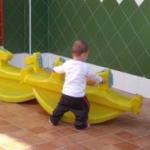 Patio guarderia infantil la comenta en Usera Madrid3