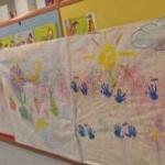 dibujos de alumnos de la guarderia la cometa en usera madrid