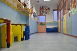 pasillo guarderia infantil la cometa en usera madrid