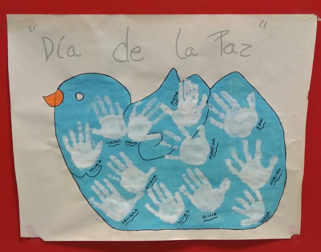 #Dia de la#Paz #EScolar